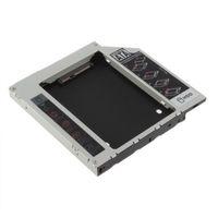 Комплект для установки доп. SSD HDD Hard Drive Caddy Aluminum Universal 12.7mm SATA to SATA