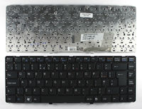 Клавиатура для ноутбука Sony Vaio VGN-NW черная(англ.)